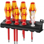 Elektriku kruvikeerajate Kraftform Plus 160 i/7 kmpl. 7 osa, PH1/2 + lapikud SL2,5/3/3,5/4/5,5 + hoidja
