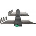 Wera TORX L-key set TX XL 1, long, BlackLaser