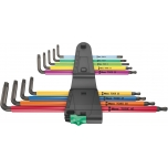Wera L-key set multicolour XL for TORX screws, long version 967/9 TX XL