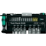 Wera Tool-Check PLUS 39 unit set with ratchet and sockets
