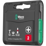 Wera Bit-Box 15 Impaktor PH 2, 15 x 25mm