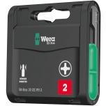 Wera drywall bits - Bit-Box 20 RZ, PH2 x 25mm, 20 pcs