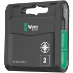 Wera standart bit - Bit-Box 20, PZ2 x 25mm, 20 pcs