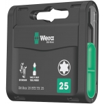 Wera BiTorsion bits TORX Bit-Box, 20 pcs x T25 x 25mm