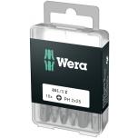 Wera standard bits DIY-box PH, 10 pcs x PH2 x 25mm