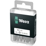 Wera standard bit DIY-box TORX, 10 pcs x TX15 x 25mm