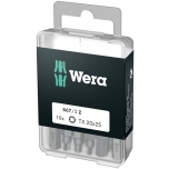 Wera standard bit DIY-box TORX, 10 pcs x TX20 x 25mm