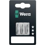 Antgaliai Wera standart 851/1 Z , PH1 x 25mm, PH2 x 25mm, PH3 x 25mm, blisteryje