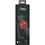 Wera HEX L-key set, metric, BlackLaser