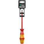 VDE Insulated screwdriver for slotted screws160i 1,0 x 5,5 x 125 mm Hang-Tag