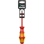 VDE Insulated screwdriver for Pozidriv screws165i PZ 2 x 100 mm Hang-Tag