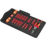 Wera Kraftform VDE 17 extra slim set with KNIPEX pliers