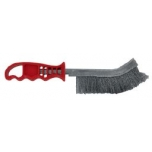 Steel wire brush with plastic handle, Tivoly